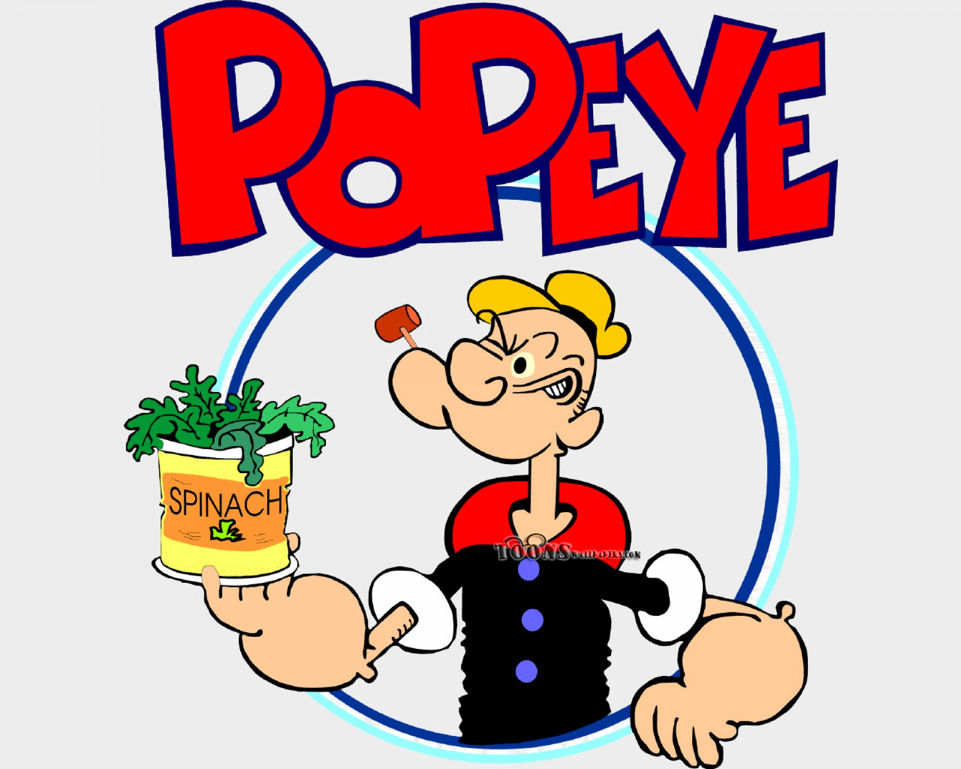 popeye my favorite cartoon charecter Popeye was created by elzie crisler segar, who in 1929 introduced the character  into his existing newspaper cartoon strip, thimble theatre popeye is a.
